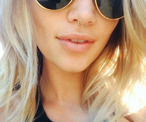blondie, glasses, and ray ban image