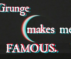 grunge, moon, and famous image