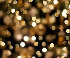 light, gold, and sparkle image