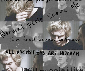 tate and evan peters image