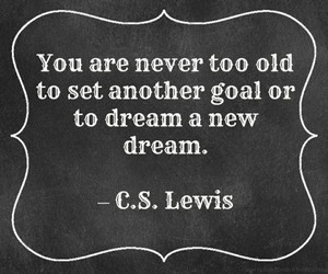 Dream, goals, and quote image