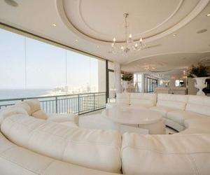 luxury, house, and white image