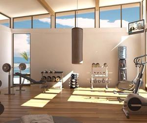 gym, fitness, and home image