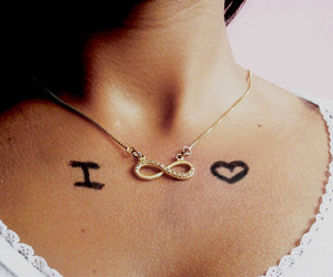 forever, heart, and girl image