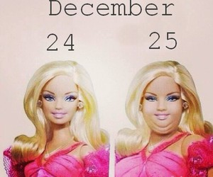 barbie, christmas, and december image
