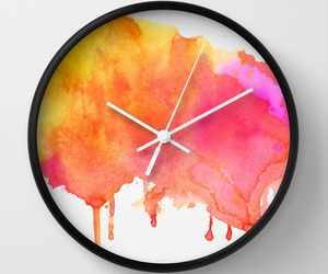 clock, color, and diy image