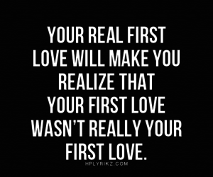 quotes, love, and first love image