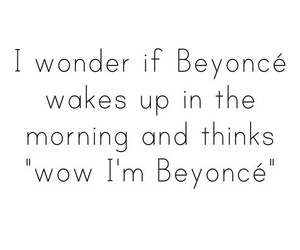 beyoncé, funny, and quote image