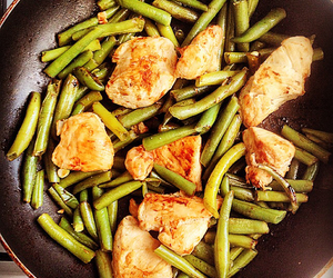 asparagus, Chicken, and lunch image