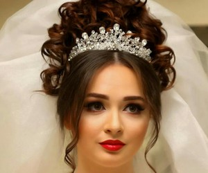 beautiful, girl, and crown image