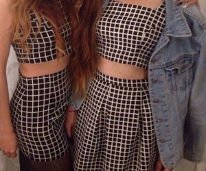 american apparel, grid, and hipster image