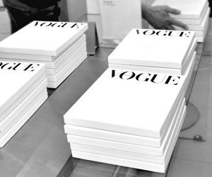 vogue, magazine, and white image