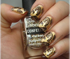 manicure, notd, and nail art image