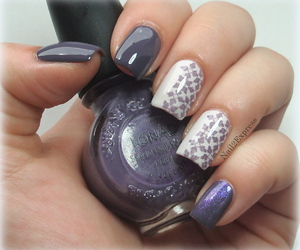 stamping, bundle monster, and manicure image