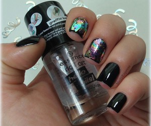 manicure, essence, and nails image