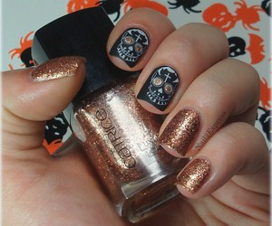 Halloween, nails, and notd image