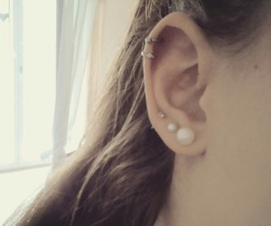 helix, piercing, and Piercings image