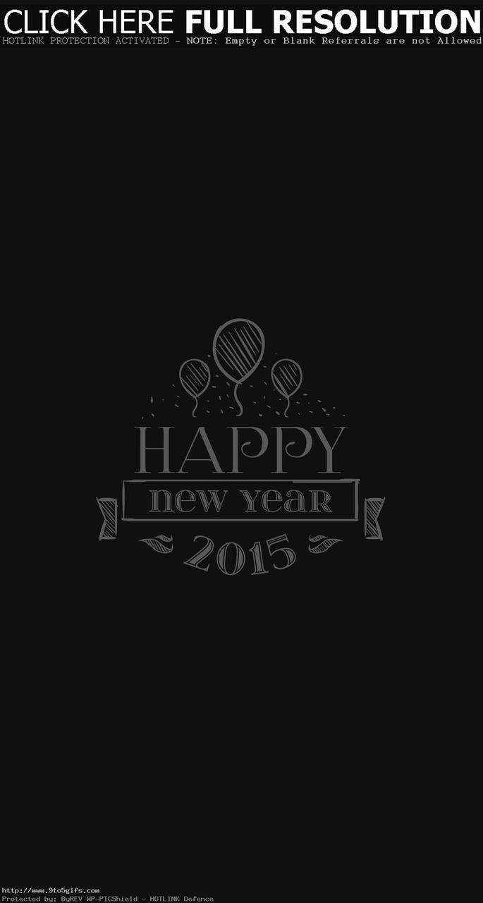 Happy New Year 2015 Iphone 6 Plus Wallpaper On We Heart It