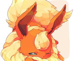 pokemon, anime, and flareon image