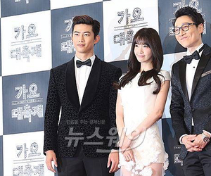 2PM, ok taecyeon, and so nyeo shi dae image