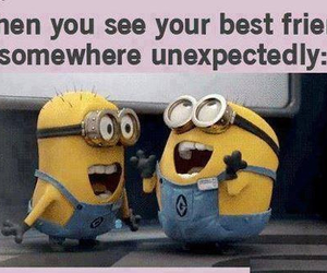 minions, friends, and best friends image