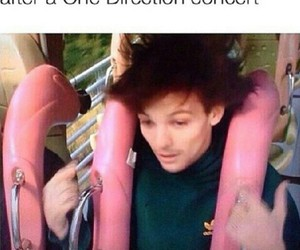one direction, concert, and funny image