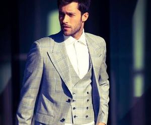 handsome, style, and suit image