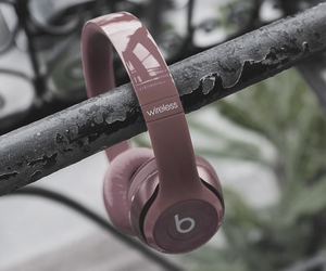 beats, dr. dre, and headphone image