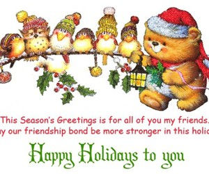 happy holidays, happy holiday, and happy holidays images image