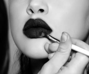 gloss, lips, and make up image
