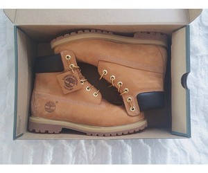 shoes, timberland, and timberlands image