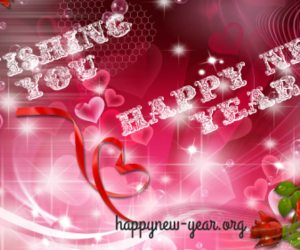 3d, happy new year, and wallpapers image