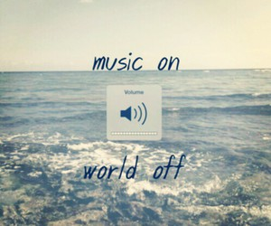 music, beach, and music on image