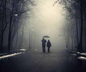 couple, dark, and photography image