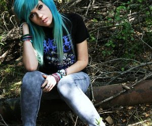 leda muir, hair, and ledamonsterbunny image