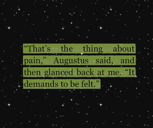 pain, perfection, and the fault in our stars image