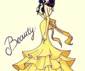 beauty, disney, and princess image