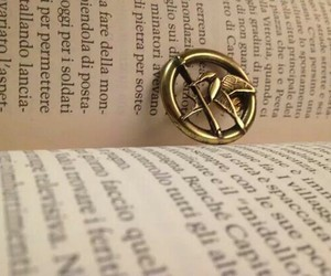 books, silver, and peeta image