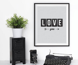 home decor, wall art, and motivational quote image