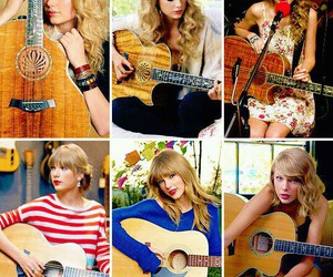 guitar, inspiration, and Swift image
