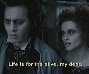 johnny depp, movie, and sweeney todd image