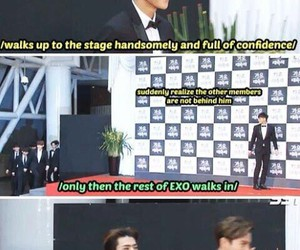 exo, tao, and funny image