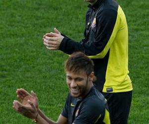 lionel messi, neymar jr, and Barcelona image