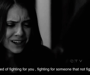 b&w, fighting, and need you image