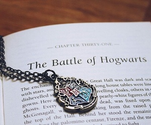 harry potter, book, and hogwarts image