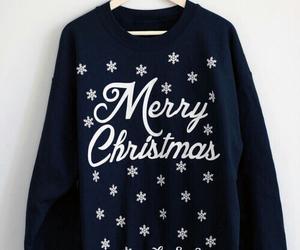 merry christmas, christmas, and fashion image