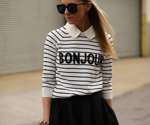 fashion, bonjour, and style image