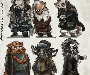 lord of the rings, balin, and dwalin image