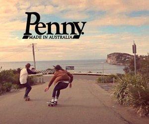 penny, skate, and australia image