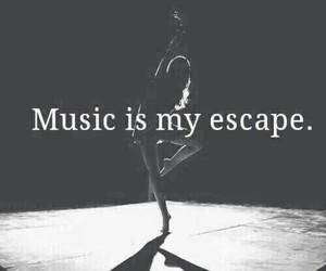 black, dance, and escape image